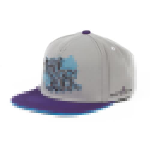 Бейсболка FLAT FITTY Tape Rock (Grey-Purple-Blue-FF-98200, O/S)