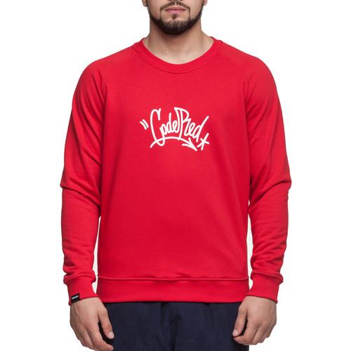 Толстовка CODERED Firm Summer Tag (Красный-CR1222, S) толстовка codered block summer черный светло красный xs