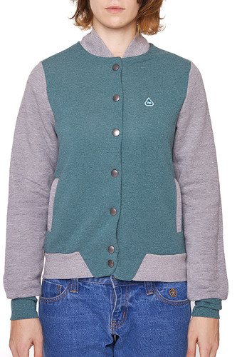 Куртка TURBOKOLOR W Woda Jacket FW13 (Mint/Grey/Heather, L) цена 2017
