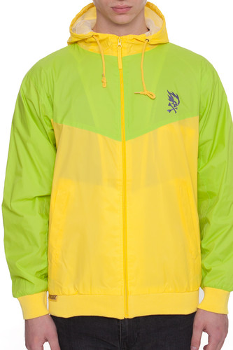 Ветровка PYROMANIAC Tropica Windbreaker (Lime/Yellow, S)