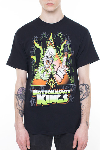 Футболка KOTTONMOUTH KING Pak Work (Black, M)