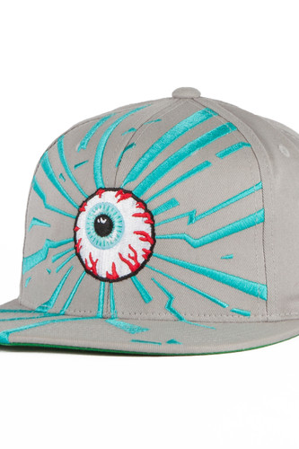 Бейсболка MISHKA Keep Watch Starter Snap (Heather, O/S)