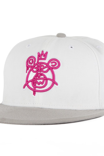 Бейсболка MISHKA Bear Mop New Era (White, 7 1/4)