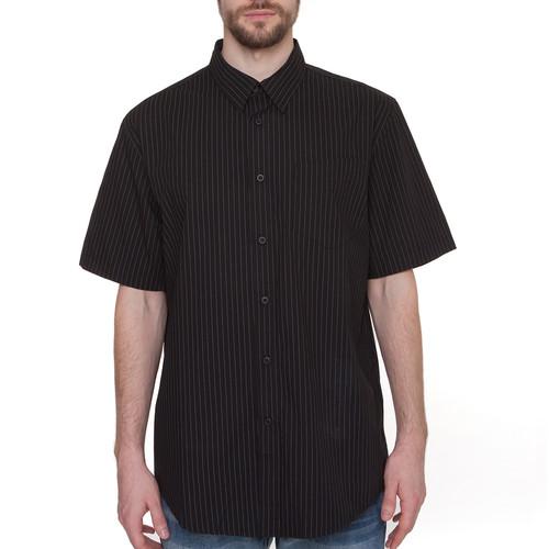 Рубашка URBAN CLASSICS Pinstripe Shortsleeve Shirt (Black, XL) леггинсы urban classics ladies jersey leggings black xl