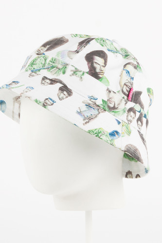 Панама MISHKA Mishka x SSUR PLUS Radicals Tennis Bucket (White, S/M) radicals