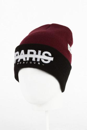 Шапка CAYLER & SONS Premium Headwear Beanie (Maroon/Black-02)