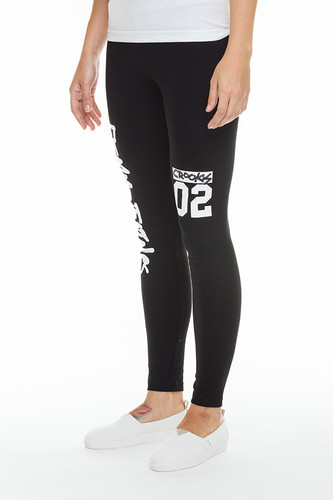 Леггинсы CROOKS & CASTLES All City Leggings (Black, M)