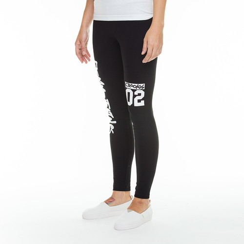 Леггинсы CROOKS & CASTLES All City Leggings (Black, M) леггинсы chrome hearts leggings