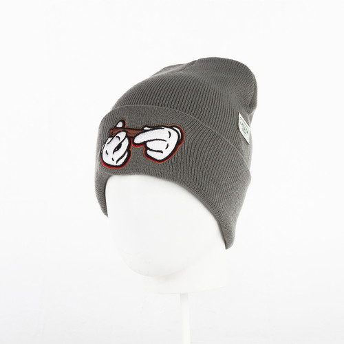 Шапка CAYLER & SONS #kush Old School Beanie (Grey/White) шапка cayler