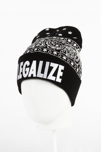 Шапка CAYLER & SONS Hazely Old School Beanie (Black/White)
