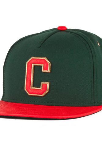 цена Бейсболка CAYLER & SONS Cee Luigi Cap (Forrest Green/Red Snake, O/S) онлайн в 2017 году