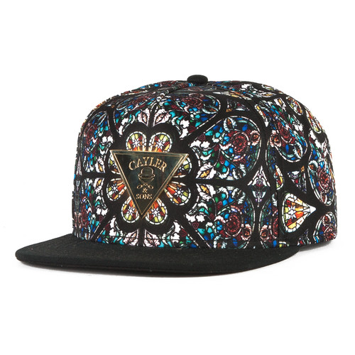 Бейсболка CAYLER & SONS Gaudi Cap (Mc/Black/Gold, O/S) бейсболка cayler