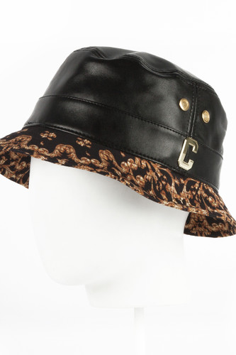 Панама CAYLER & SONS Checkers Bucket Hat (Brown/Gold, S/M) панама stussy circle paisley bucket hat black s m