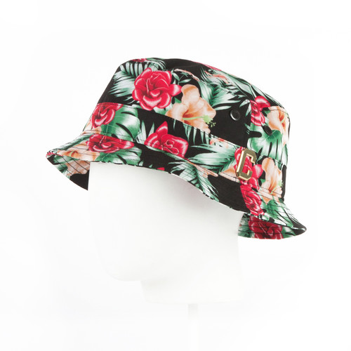 Панама CAYLER & SONS Hawaiian Flowers Bucket Hat (Mc/Gold, L/XL)
