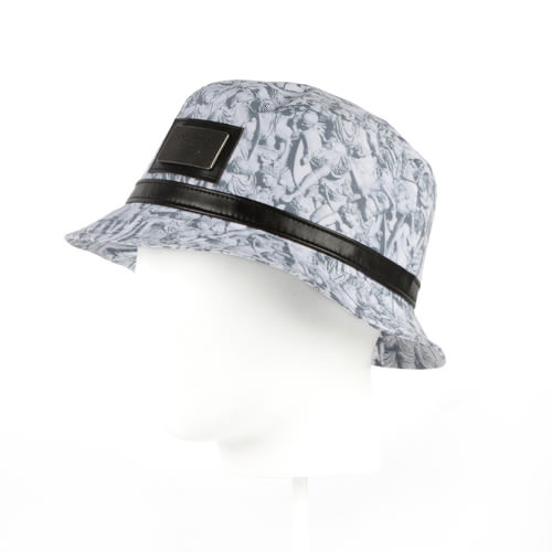 Панама CAYLER & SONS Hazely Bucket Hat (Black/White, S/M) панама мишка sunset tie dye bucket hat sunset s m