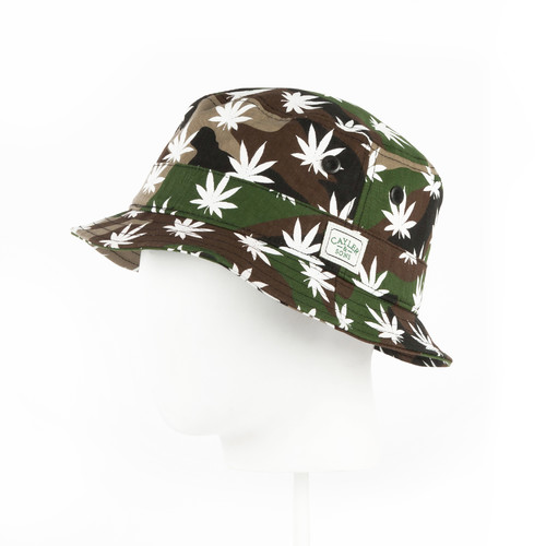 Панама CAYLER & SONS Legend Bucket Hat (Woodland/White-01, S/M)