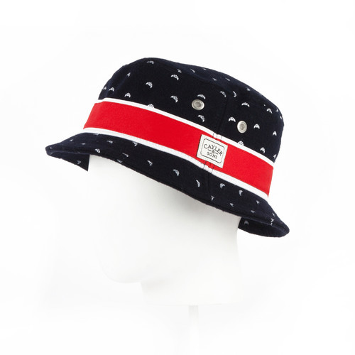 Панама CAYLER & SONS Lil Budz Bucket Hat (Navy/Red/White, S/M) панама мишка sunset tie dye bucket hat sunset s m