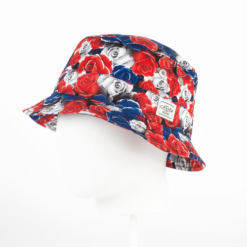 Панама CAYLER & SONS Paisace Bucket Hat (Back/Gold, S/M)
