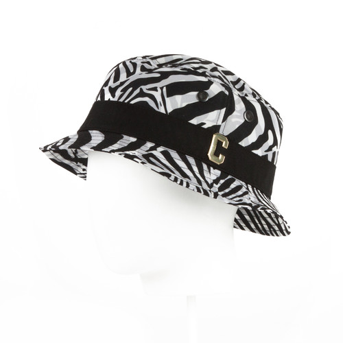 Панама CAYLER & SONS Psycho Zebra Bucket Hat (Zebra/Black/Gold, L/XL)