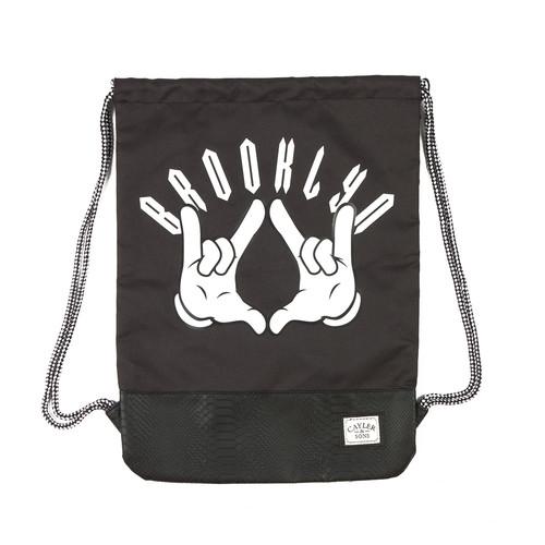Сумка CAYLER & SONS Hello Brooklyn Gymbag (Black/Mc) сумка morris brooklyn r blake сумка morris brooklyn
