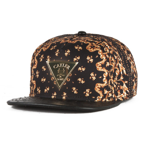 Бейсболка CAYLER & SONS No Mercy Cap (Black/Gold, O/S) цена