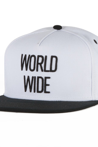 Бейсболка CAYLER & SONS World Wide Cap (White/Black, O/S)