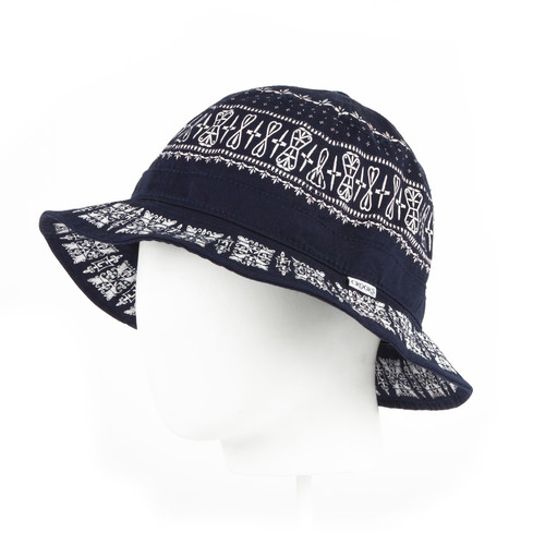 Панама CROOKS & CASTLES Paradise Bucket (White Multi, L/XL)