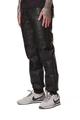 Брюки MISHKA Keep Watch Quilted Jogger Pants Black фото