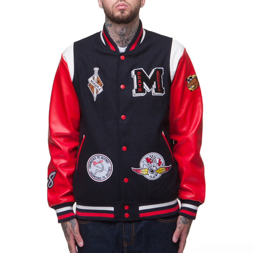 Куртка MISHKA Death Racer Jacket (Navy, XL) куртка revolution jacket heavy 7442 army xl