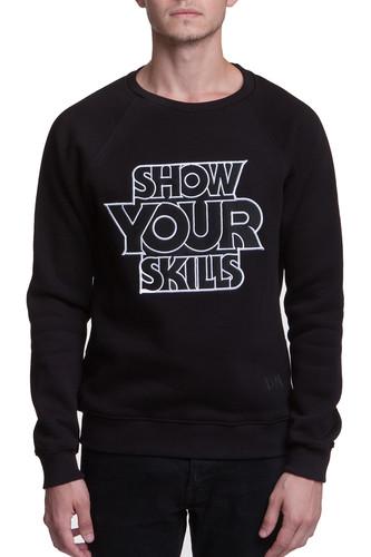 Толстовка SKILLS Show You Skills V (Black, L)