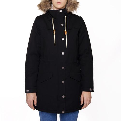 Куртка ЗАПОРОЖЕЦ Ladies Long Parka (Black, M)