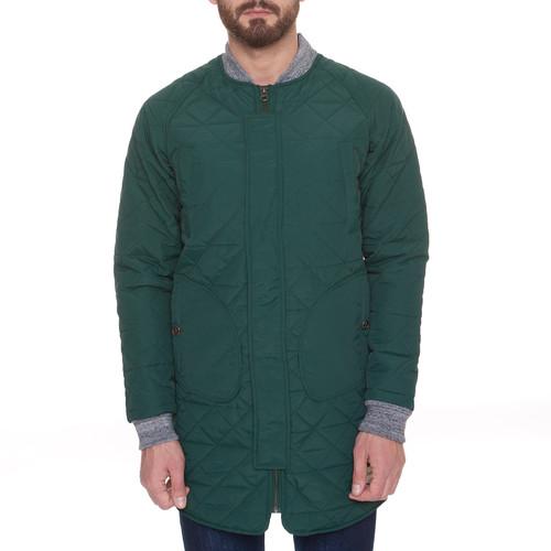купить Куртка ЗАПОРОЖЕЦ Fufaika Long (Dark Green, 2XL) по цене 3250 рублей