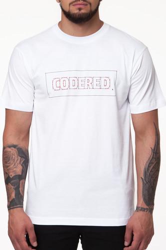 Футболка CODERED Vector Logo (Черный/Красный-CR1286, XL) рубашка codered harbor чернильный синий молочный красный xl