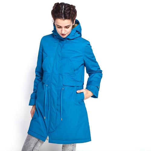 Куртка FLICKA W Grand illusion (Sea Blue, XS)