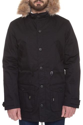 Куртка S.G.M. Far Sight (Black, L) 12storeez варежки с меховой опушкой бежевый