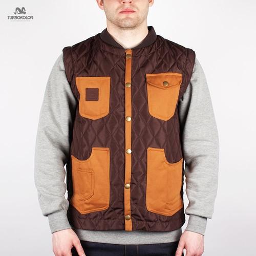 купить Жилет TURBOKOLOR Altana Vest FW13 (Brown, M) по цене 1353 рублей