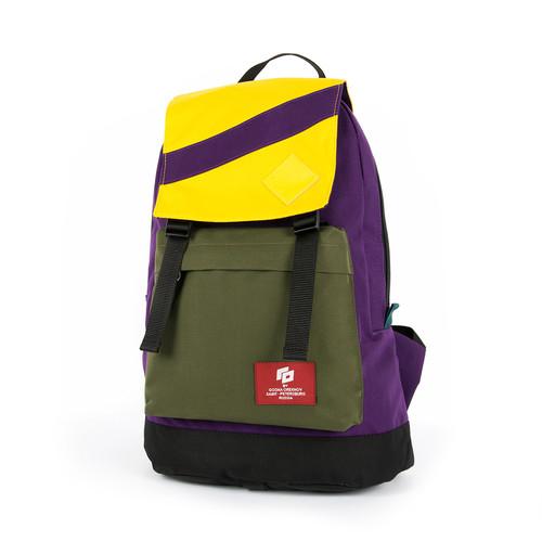 Рюкзак GOSHA OREKHOV Citypack Color (Желтый/Хаки/Черный/Чернильный-01577) цена