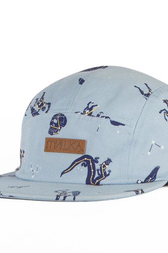 Бейсболка МИШКА Telescopic 5 Panel (Sky-Blue, O/S)