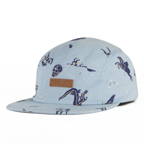 Бейсболка МИШКА Telescopic 5 Panel (Sky-Blue, O/S) бейсболка obey washington 5 panel olive o s