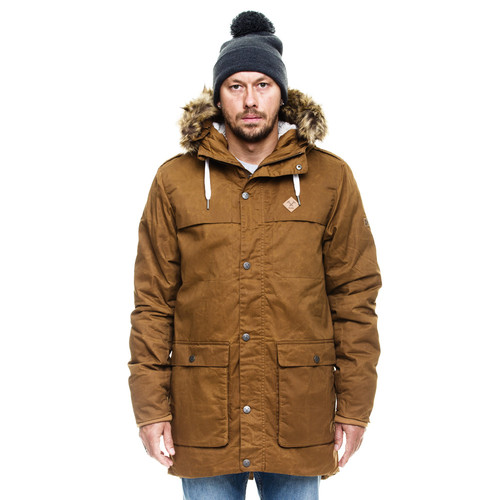 Парка MAZINE Toronto Waxed Parka (Simian Brown-12486, XL) цена и фото