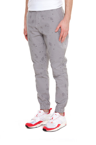 Брюки CROOKS & CASTLES Recruit Sport Pant (Light Grey Multi, 34)