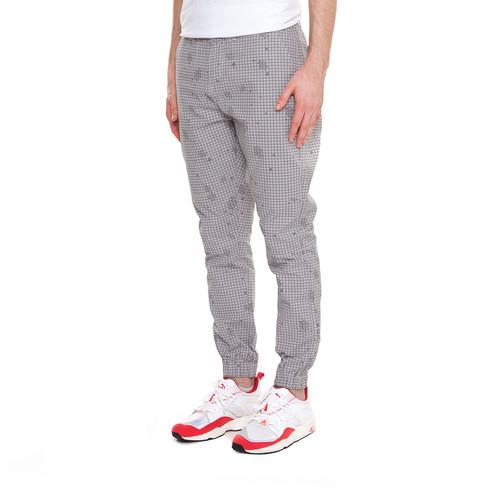 Брюки CROOKS & CASTLES Recruit Sport Pant (Light Grey Multi, 34) цена