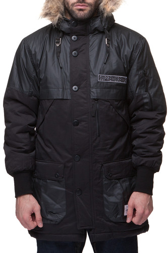 Куртка SUPREMEBEING Outpost FW14 (Black-9484, XS) шапка supremebeing blatant fw14 off white 9562