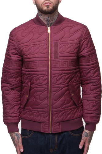 Куртка CROOKS & CASTLES Coup D'etat (Burgundy, S) куртка insight the coup pit blue
