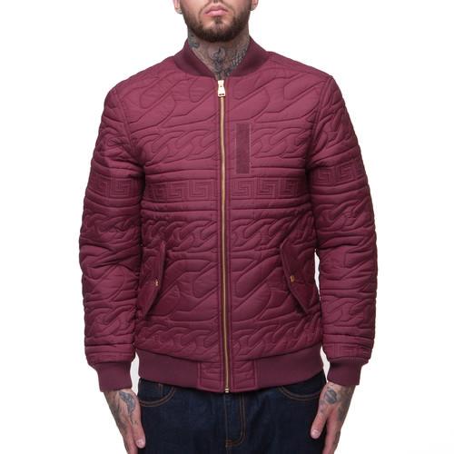 Куртка CROOKS & CASTLES Coup D'etat (Burgundy, S) куртка crooks