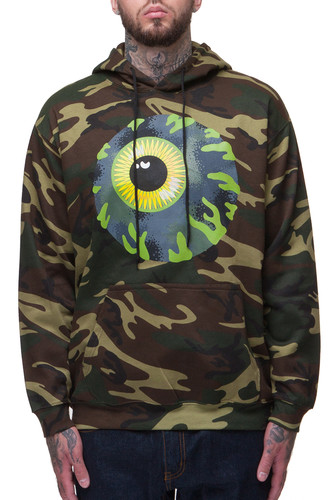 Толстовка MISHKA Kirby Camo Keep Watch Pullover (Green Woondland, XL) толстовка mishka kirby camo keep watch pullover hoodie black m