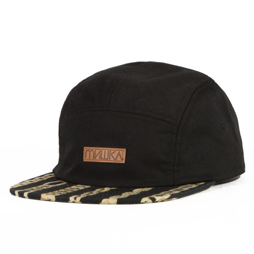 Бейсболка MISHKA Chaifned 5-panel (Black, O/S) бейсболка mishka kill with power ne 5950 black 7 3 8
