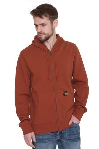 Толстовка OBEY Trademark Zip Hood (Sierra, M) толстовка obey core zip hood tiger camo l