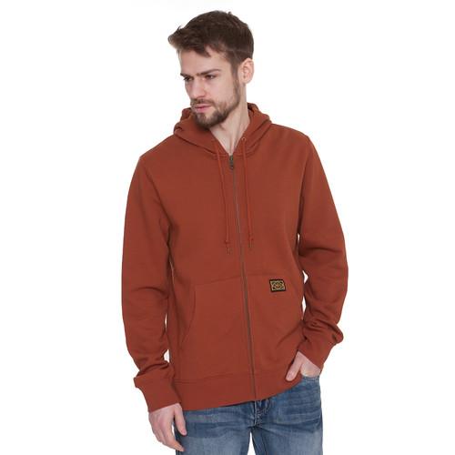 Толстовка OBEY Trademark Zip Hood (Sierra, M)