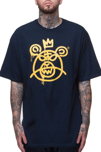 Футболка MISHKA Bear Mop T-Shirt (Navy, M)